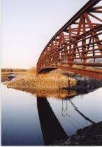 Bridge on Scarborough Marsh