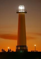 lighthouse @ rainbow harbor