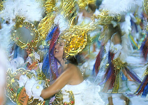 Brazilian Dancers with hats