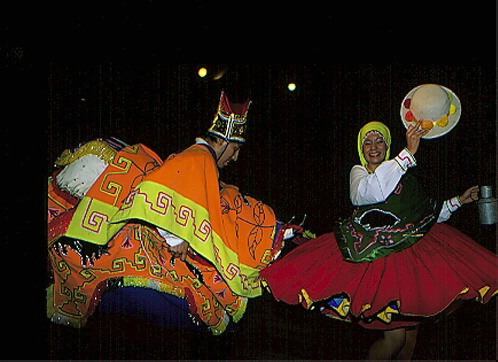 Two dancers  - ID: 65649 © Govind p. Garg