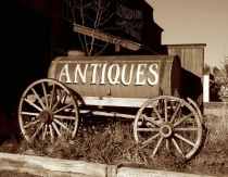 Antiques meet the Old West