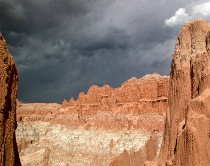 Storm Brewing - Cathedral Gorge, NV