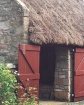 Thatched stable