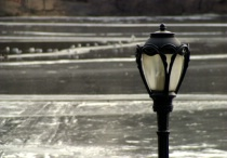 Central Park Lamppost