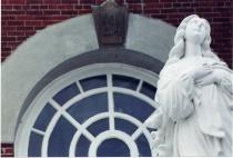 """""""The Big Church"""" Statue-3"""