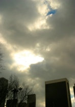 Spooky Sky With One Bright Spot