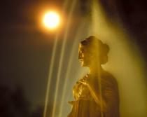 Statue under Spray