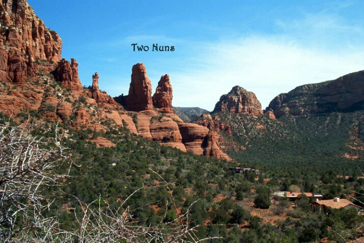 Tour of Sedona, AZ - Two Nuns