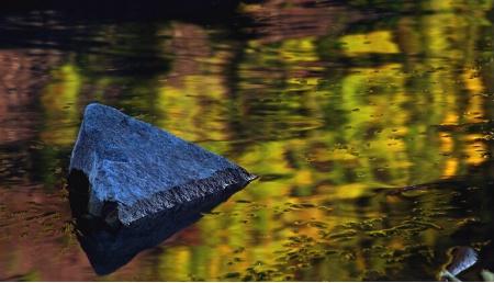 Fall reflections at dusk