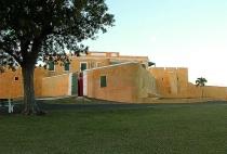 Fort Christiansvaern at Sunset
