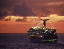 Passing ship