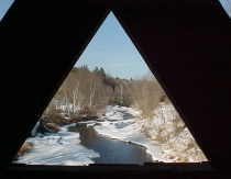 Veiw from a Covered Bridge 2