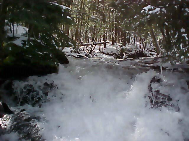 Small Waterfall Raging