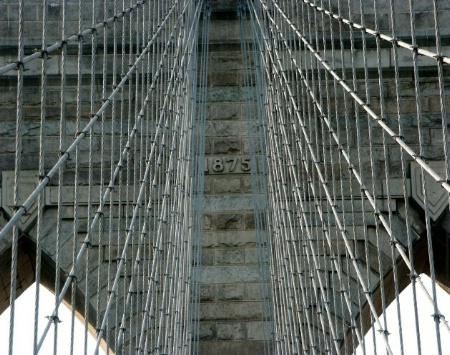 A SEGMENT OF BROOKLYN BRIDGE