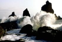 Waves, Cape Johnson, Olympic National Park, WA