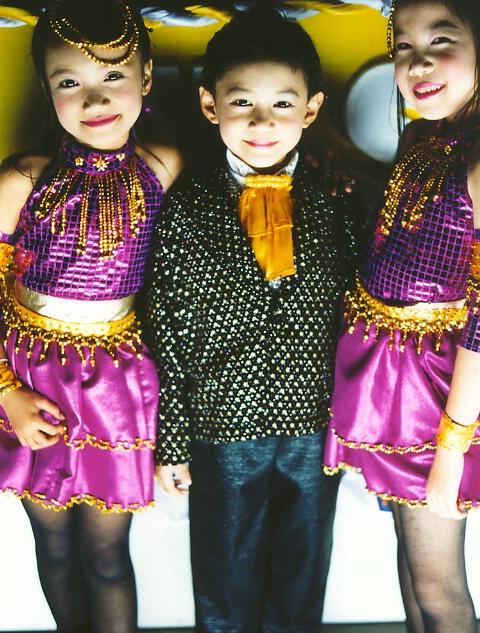 Thailand children in costume