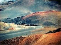 Haleakala volcano on Maui