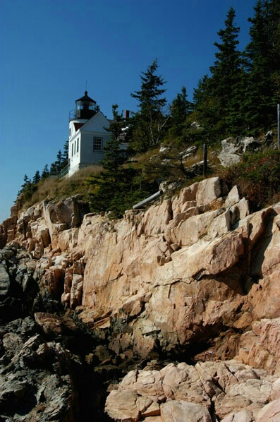 Bass Harbor Lighthouse - ID: 126805 © GARY  L. ROHRBAUGH