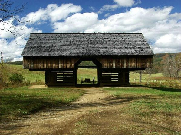 Cantilever Barn - ID: 126969 © GARY  L. ROHRBAUGH
