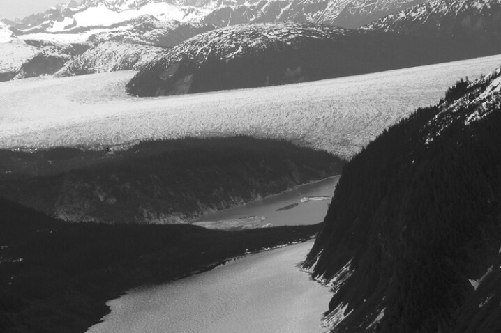 Juneau Ice Field from Helicopter