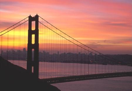 Golden Gate Sunrise, California