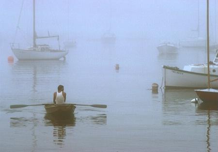 Coming ashore, Maine