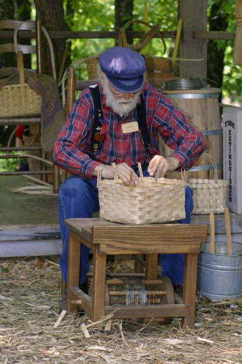 The Basket Maker - ID: 144618 © Rhonda Maurer