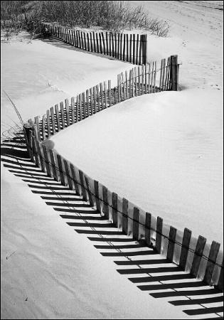 Ziz-Zag Beach Fence