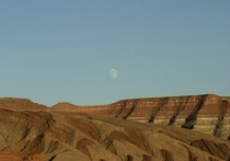Moonrise over Mexican Hat