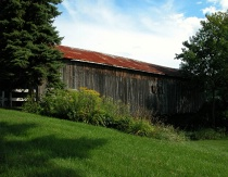 Covered Bridge of still waters