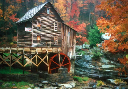 Glade Creek Mill 3-3