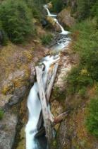 Lava Canyon Falls