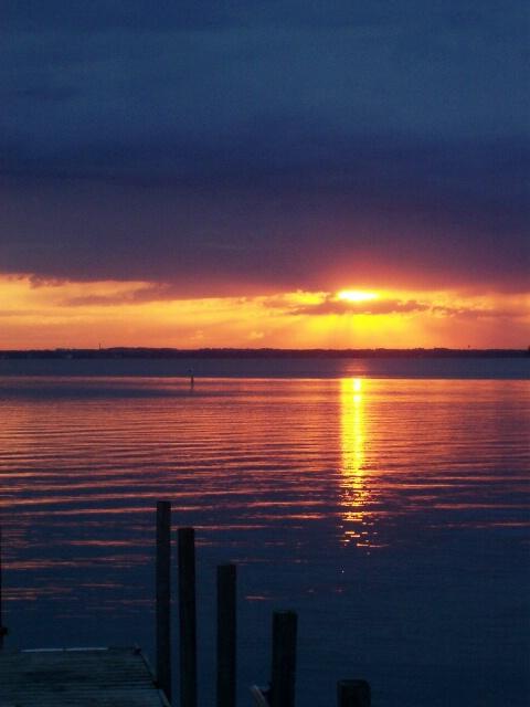Sunrise after the Rain