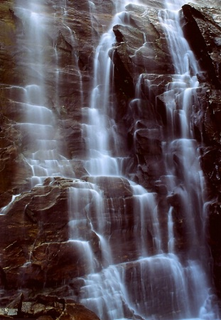 Hickory Nut Falls Detail