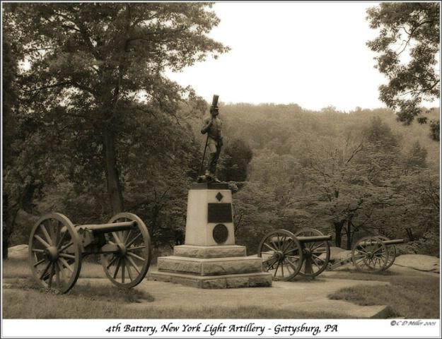 4th Battery, NY Light Artillery - Gettysburg