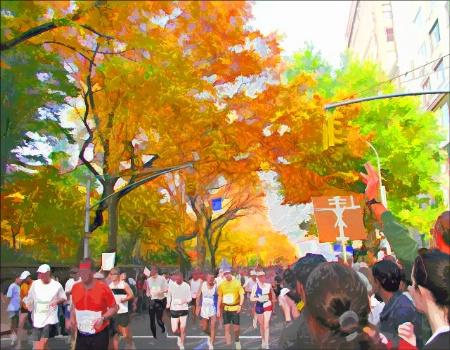 NYC Marathon 2003