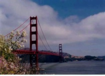 springtime at the Golden Gate Bridge