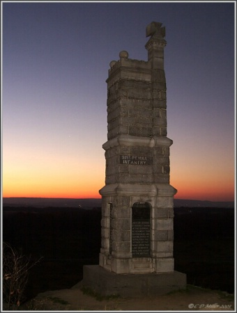 91st PA - Little Round Top