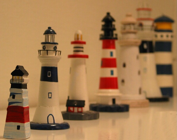 Indoor lighthouses