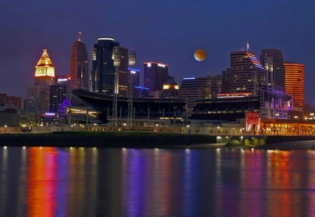 Full Moon Over Cincinnati
