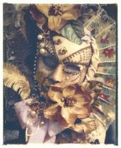 Flowered Mask, Carnevale, Venice