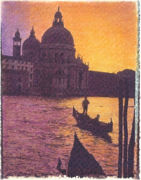 Gondola Sunset, Venice