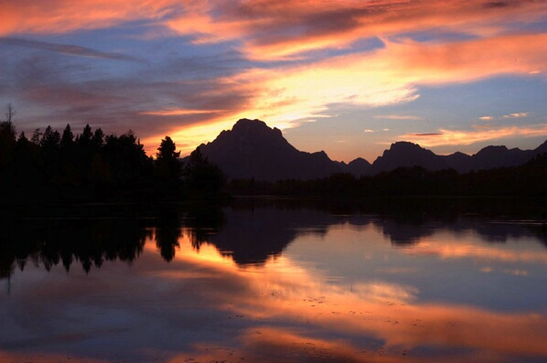 Oxbow Sunset - ID: 241222 © GARY  L. ROHRBAUGH