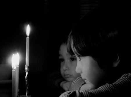 Chanukah's End: Hope & Sadness