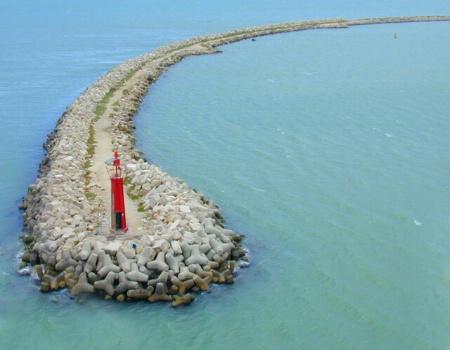 Entering Tunisian bay
