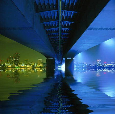 *under the bridge*