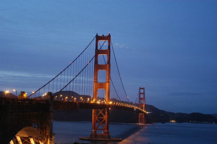 That Bridge in San Francisco