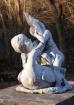 Worn Statue