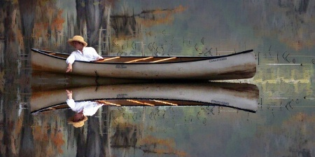 Another Lady and Canoe
