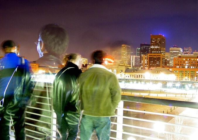 Watching the night
